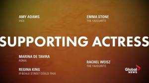 91st Academy Award Nominations: Best Supporting Actress