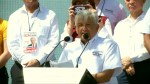 Mexican presidential front-runner Obrador says he's ready to take on Donald Trump