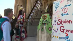 Alberta apologizes to Indigenous children who were taken