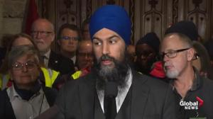 NDP slams Trudeau over postal worker back-to-work legislation