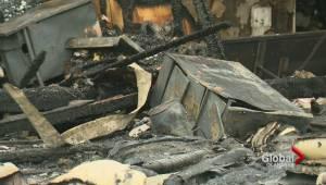 Fire in Summerland tears through modular home (01:36)