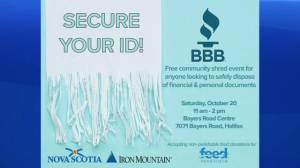Better Business Bureau talks shredding event to protect your identity