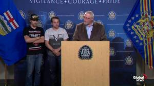 Spokesperson for families of Calgary triple homicide victims speaks