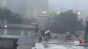 Heavy rain, high winds pelt eastern Puerto Rico