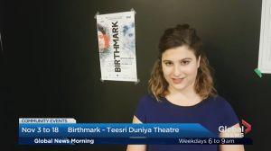 Community Events: Birthmark – Teesri Duniya Theatre