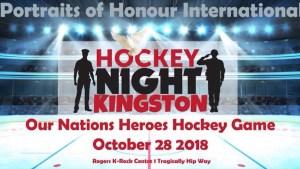 International Heroes Hockey Night in Kingston