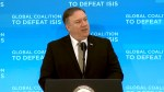 U.S. secretary of state vows to lead fight against ISIS despite withdrawal of troops