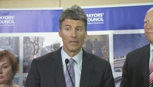 Members of the Mayors' Council react to transit plebiscite