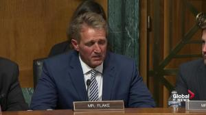 Jeff Flake calls for delay in Kavanaugh floor vote, FBI investigation