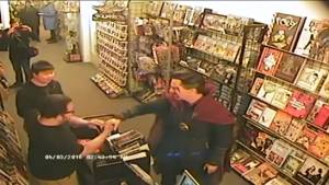 Benedict Cumberbatch shows up at comic store dressed as Doctor Strange
