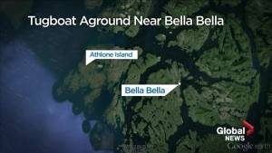 Environmental impact after tug boat runs aground near Bella Bella