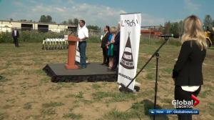 Enoch Cree Nation hosts pipeline blessing near Edmonton