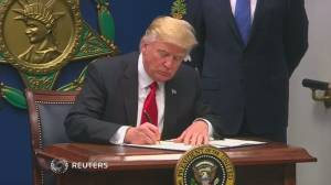 President Trump's travel ban sparks panic abroad, lawsuits