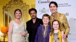 Trudeau meets Bollywood's biggest stars at film industry event