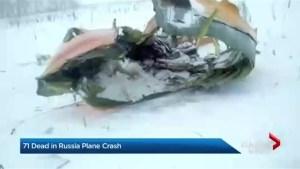 71 dead in Russian plane crash