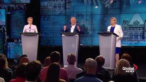 Ont. Leaders' Debate: Ford believes in global warming, not carbon tax