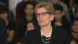 Ontario premier: Free tuition 'and more' for low-income students