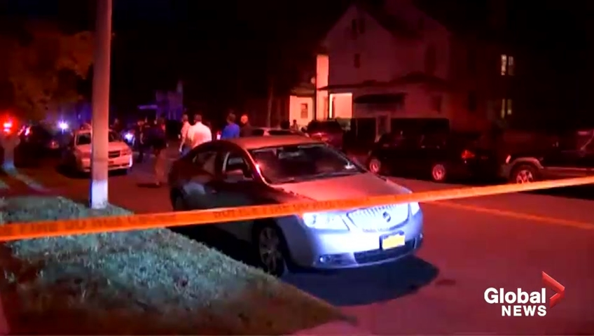 Multiple people reported hurt in Syracuse, New York shooting