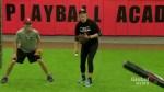 Mia Valcke, 17, hopes to become first woman to play on both baseball, softball national teams
