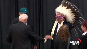 Blood Tribe's new chief and council sworn in