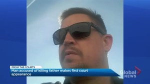Man accused of killing father makes 1st court appearance