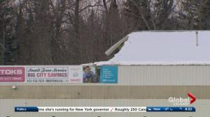 Millarville horse riding arena roof collapse
