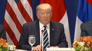 Donald Trump announces new sanctions on North Korea