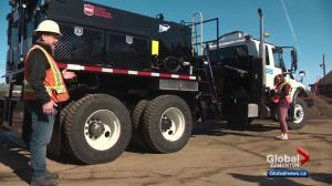 City of Edmonton unveils new tool to help deal with potholes