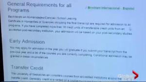 University of Saskatchewan sees spike in foreign student applications