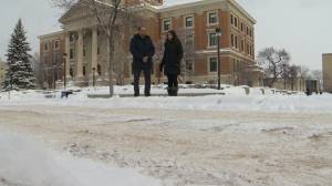 Why the winter warm up makes for slippery conditions around Winnipeg