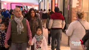 Calgarians brave the Boxing Day crowds in search of deals