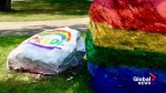 Symbols celebrating pride vandalized on University of Calgary campus