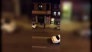Citizen takes down man with gun