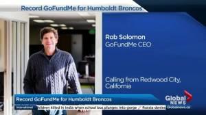 GoFundMe CEO on Humboldt Broncos bus crash fundraising