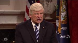 Alec Baldwin's Trump tries to clarify reason behind firing of FBI chief Comey
