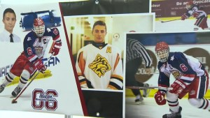 Charity hockey tournament held in honour of Tristan Morrissette-Perkins