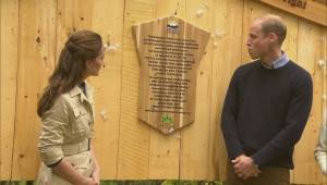 Plaque dedication for the Great Bear Rainforest