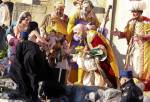 Topless feminist activist tries to snatch baby Jesus statue from Vatican nativity scene