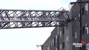 Crane collapses in Texas town, killing one
