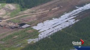 Nexen spill clean-up continues