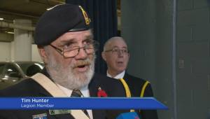 Regina residents gather to honour soldiers at Remembrance Day ceremonies