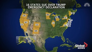 Full breakdown of the legal challenges facing Trump's emergency declaration
