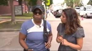 Woman who saw gunman firing shares her story