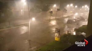 Hurricane Maria whips up winds across Guadalupe