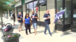 Union officials meet with local MP over decision to privatize cleaning jobs at CFB Kingston