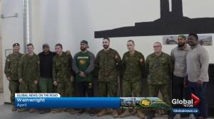 Edmonton Eskimos invited to spend time at CFB Wainwright