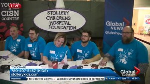 19th Corus Radiothon raising money for Stollery Children's Hospital underway