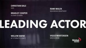 91st Academy Award Nominations: Best Leading Actor