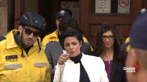 Jian Ghomeshi departs courthouse after signing peace bond