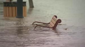Red River flood watch continues as spring snow storm hits Grand Forks